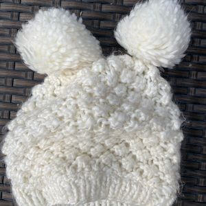 Other - Cute little puff ball hat! GUC